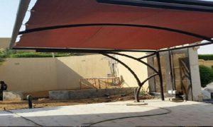 مظلات مداخل البيوت