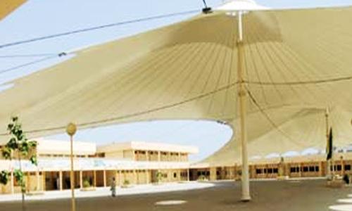 تركيب مظلات الساحات للمدارس