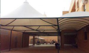 تركيب مظلات ممرات المدارس