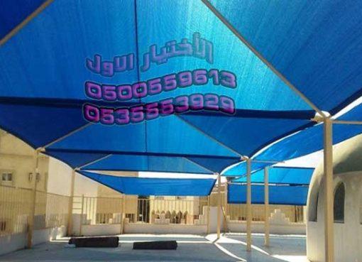 مظلات توسعة ساحات المساجد