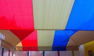 مظلات مدارس بي في سي