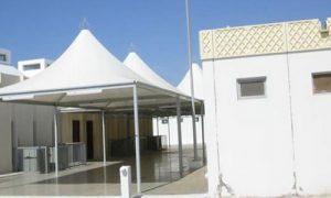 مظلات مساجد معزولة
