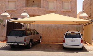 مظلة مدخل سيارة