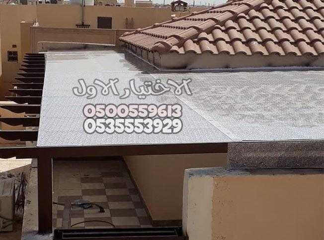 ديكورات مظلات خارجية للمنازل