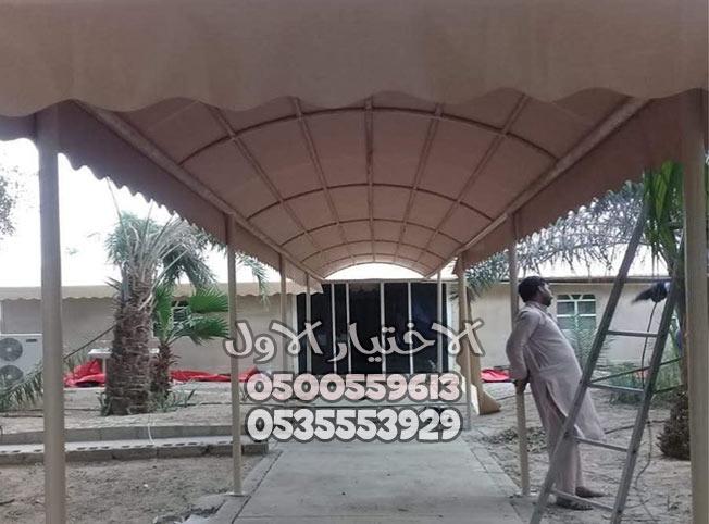 تركيب مظلات الدمام بأسعار متناول